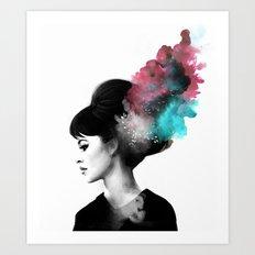 Friday, I'm in love. Art Print