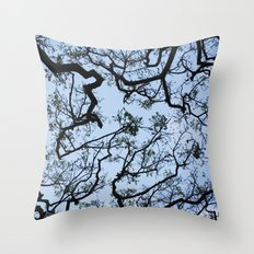 Under the Tree - Day Throw Pillow