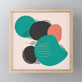 Desert Rocks 1 Framed Mini Art Print