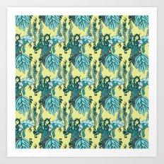 Jamaican Botanicals - Sea Art Print