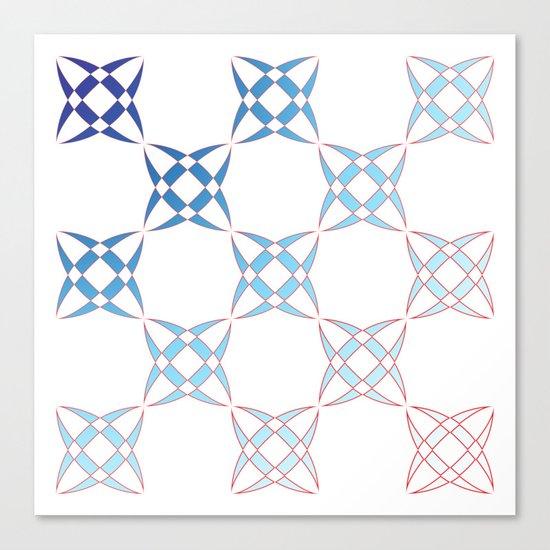 Checker C4 Canvas Print