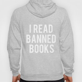 I Read Banned Books - Inverted Hoody