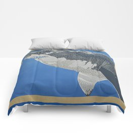 Fool Like You For Breakfast- Great White Shark Comforters