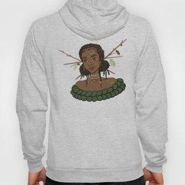Autumn Oak Goddess • Black Girl Magic in Fall Colors Hoody
