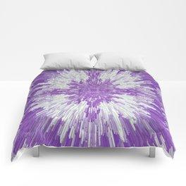 City in Purple... Comforters