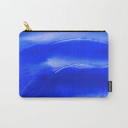 Ocean Decor, Home & Accessories, Waves, Blue, Art Prints, Wall Art Carry-All Pouch
