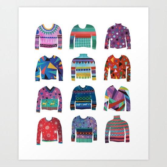 Sweater Poster Art Print