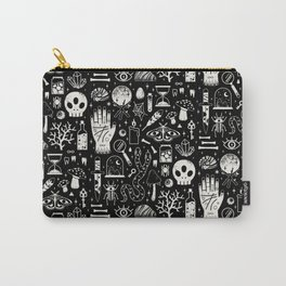 Curiosities: Bone Black Carry-All Pouch