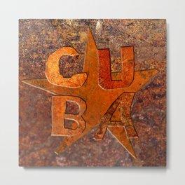 CUIN CUBA Metal Print