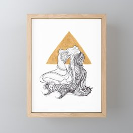 Cosmic Beauty I (Sol) Framed Mini Art Print
