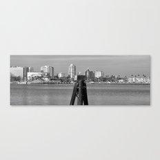 A Gull kind of City Canvas Print