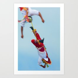 Flying artist collection _04 Art Print