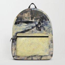 George Hendrik Breitner - The Rokin In Amsterdam - Digital Remastered Edition Backpack