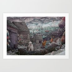 Home for the Harbor Art Print