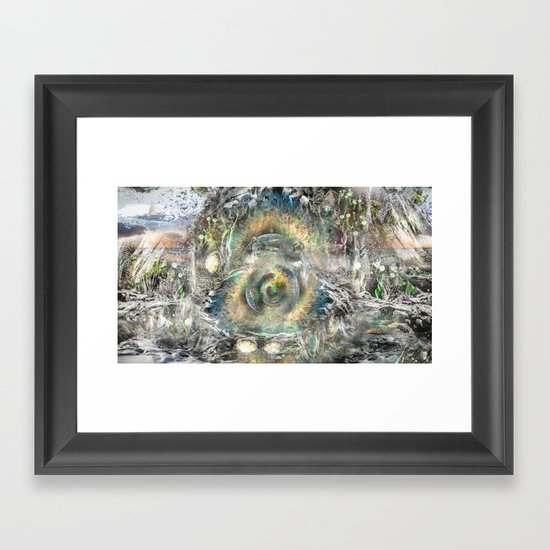 The Well Framed Art Print