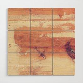 Wood planks shipboard texture Wood Wall Art