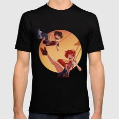 With You Mens Fitted Tee Black MEDIUM