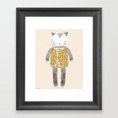 Pussycat Framed Art Print