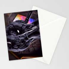 Hold on tight for warp speed Stationery Cards