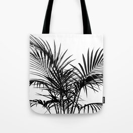 Little palm tree in black Tote Bag