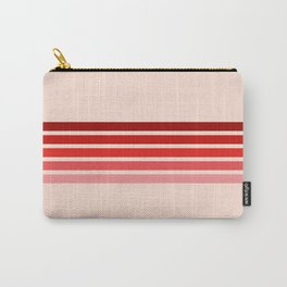 """Red Rainbow """"Love"""" Carry-All Pouch"""