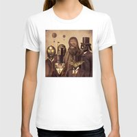 gold T-shirts featuring Victorian Wars  by Terry Fan