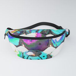 Colored eggs Fanny Pack
