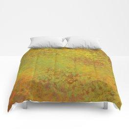 Liquid Hues Fluid Art Digital Illustration, Digital Watercolor Artwork Comforters