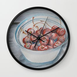 Life is a Bowl of Cherries Wall Clock