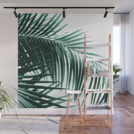 Palm Leaves Green Vibes #8 #tropical #decor #art #society6 Wall Mural