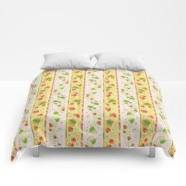 Strawberries and Cream Comforters