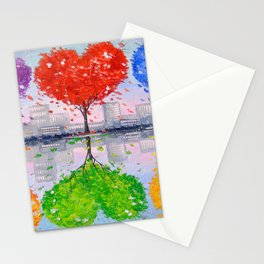 Mutual love Stationery Cards