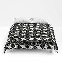 Flower of Life Pattern Rhomboids Comforters
