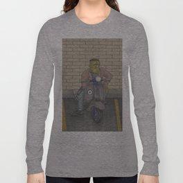 Frankenstein Scooter Long Sleeve T-shirt