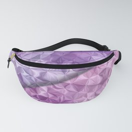 Abstract colored stripes 12 Fanny Pack
