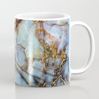 house Mugs featuring Marble by Patterns and Textures