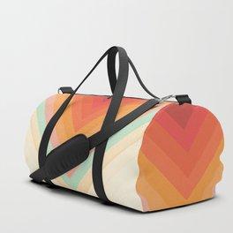 Rainbow Chevrons Duffle Bag