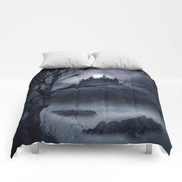 Gothic Night Fantasy Comforters
