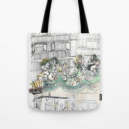 sketch_temple Tote Bag