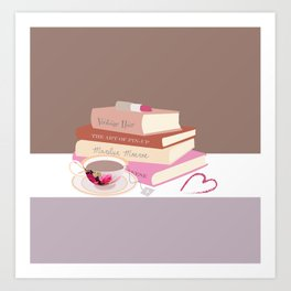 Pin-Up Still Life Art Print