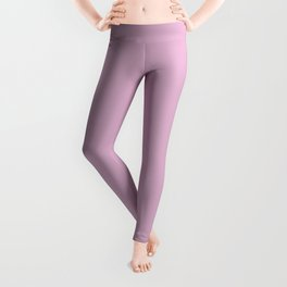 Spring Lavender, Solid Color Collection Leggings
