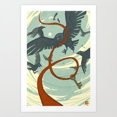 Murderous Truth Art Print