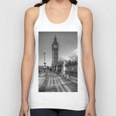 Big Ben, London Unisex Tank Top
