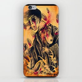 japanese ghost iPhone Skin
