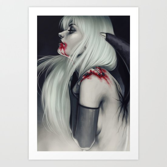 Caught Art Print