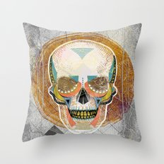 Another Skull Throw Pillow