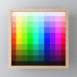 Swatches Framed Mini Art Print