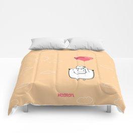 Juntos llegaremos tan alto Comforters