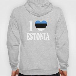 I Love Estonia Hoody
