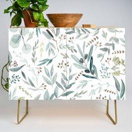 Eucalyptus pattern Credenza